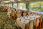 Restaurant on the boat deck