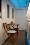 Балкон в каюте П/Люкс №4