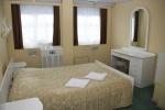 Спальная комната люкса теплохода
