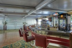 Bar on the boat deck