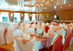 Kalinka Restaurant on boat deck