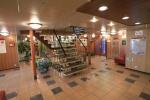Холл на главной палубе теплохода «Леонид Соболев»