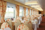 Restaurant Volga on the middle deck